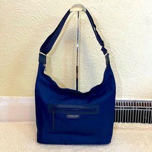 LONGCHAMP shoulder/ sling bag in navy blue